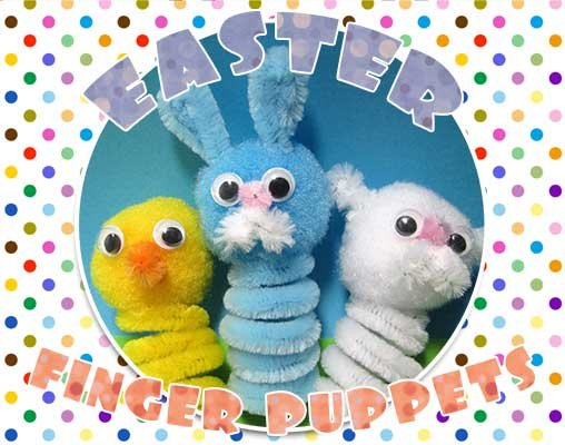 Finger Puppets - Chick, Lamb and Bunny